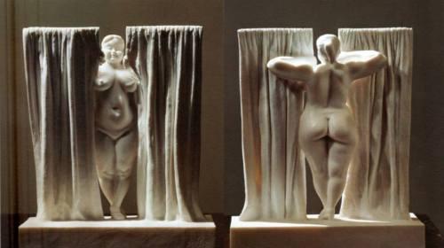 Window - marble sculpture