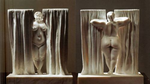 Window - marble sculpture