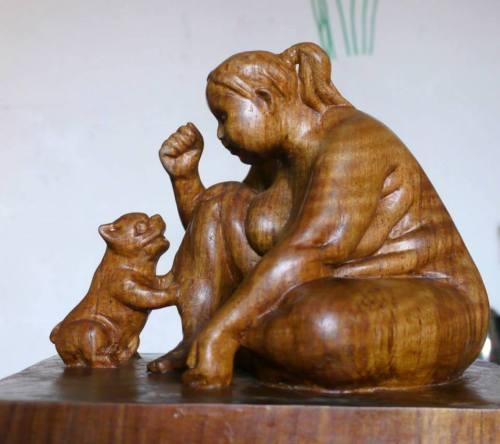 Fun ~ wooden sculpture
