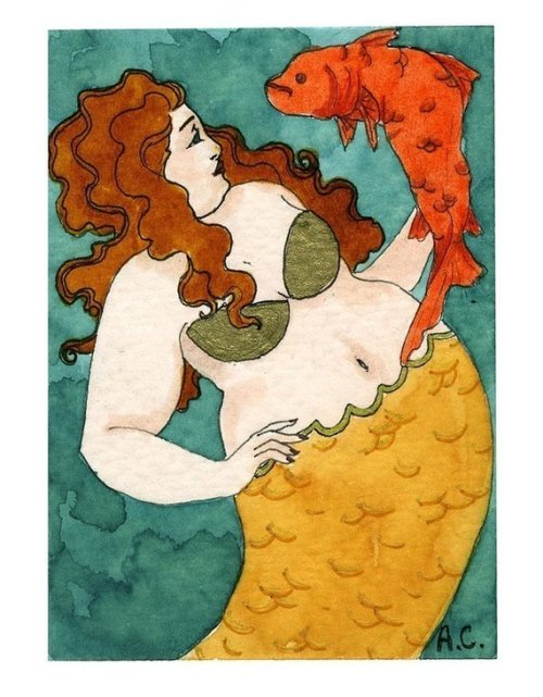 Gold Fish Mermaid
